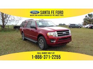 2015 Ruby Red Metallic Tinted Clearcoat Ford Expedition EL XLT 36026P