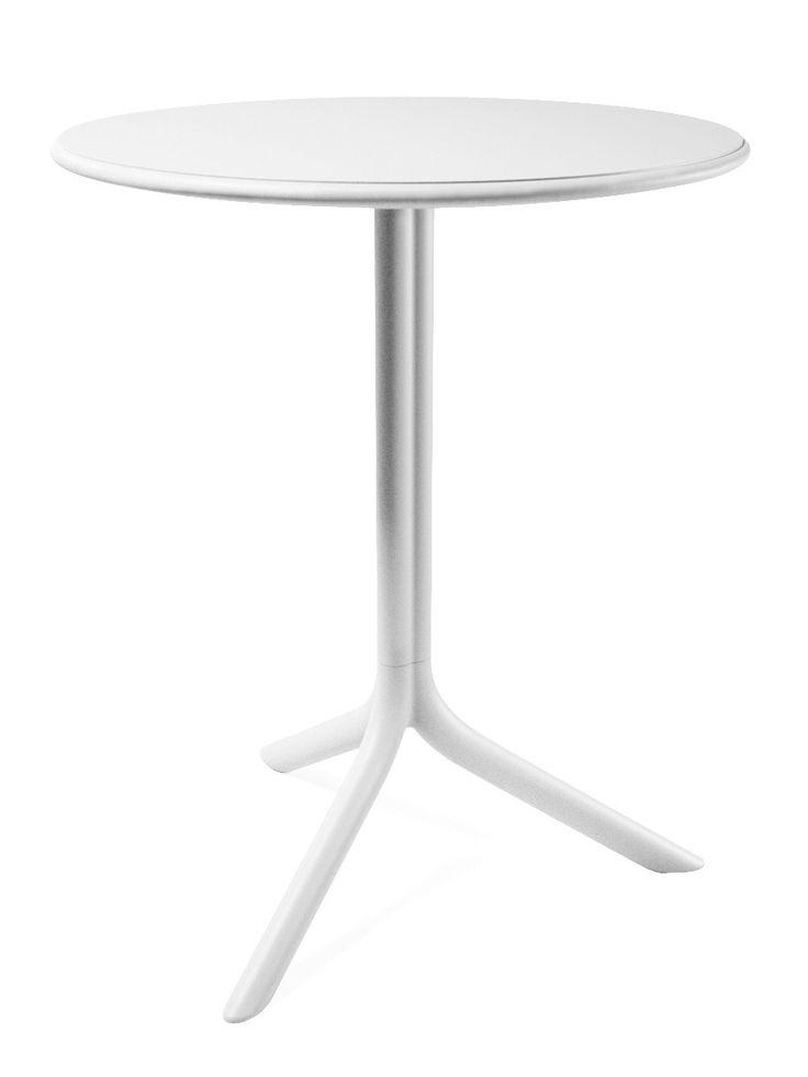 Biały stolik Spritz #table #coffee #coffeetable #home #modern #design #homedecor #homedesign #furniture #polypropylene