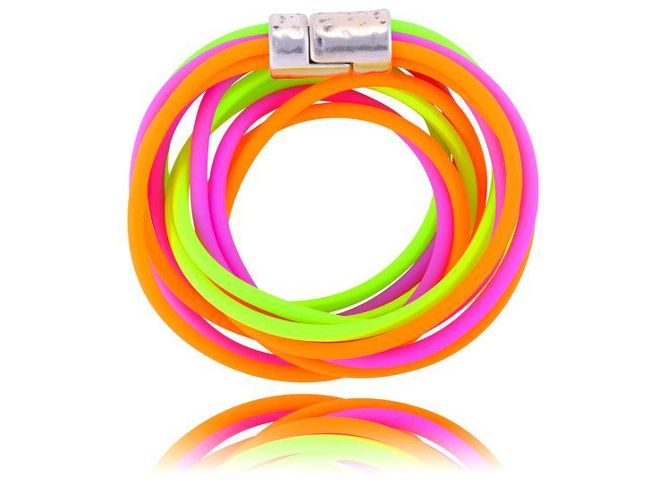 Żyj kolorowo :) #ByDziubeka #bracelet #bransoletka #jewelry #colorful