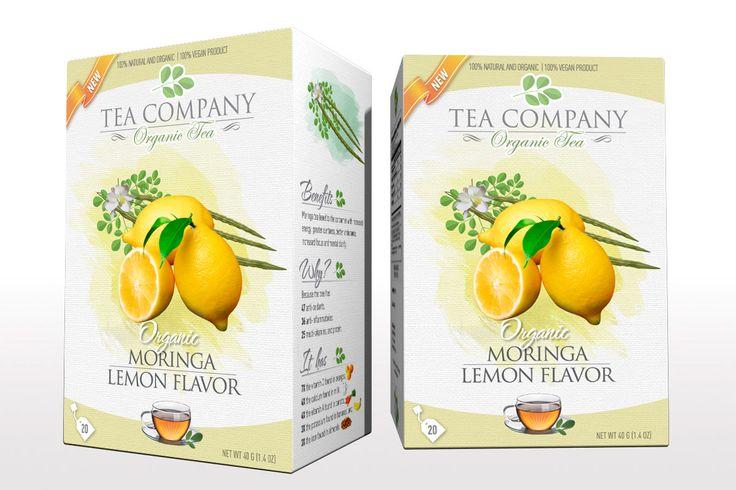 Tea Box Design -