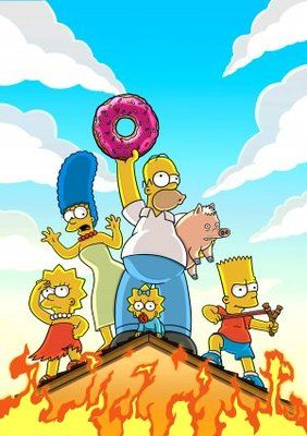 The Simpsons Movie (2007) movie #poster, #tshirt, #mousepad, #movieposters2