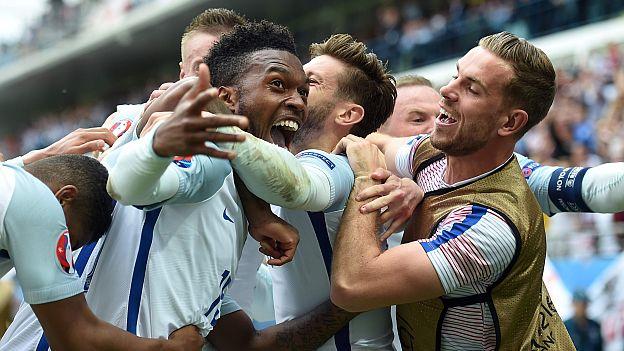 Inglaterra volteó 2-1 a Gales en partidazo por la Eurocopa Francia 2016