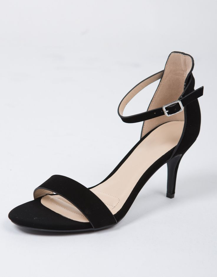 More coming soon! Approx Date: 12/16/16 Meow. Just enough chic and just enough heel, these Ankle Strapped Kitten Heels are amazing. They feature a lower heel for us girls who can't stand heels sometim