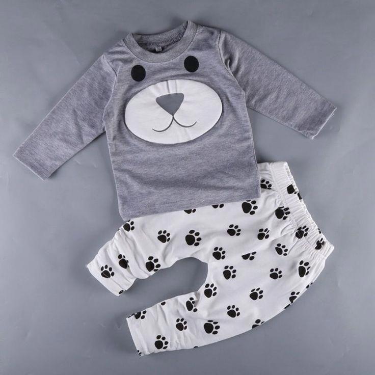 417775b10b5b9 Autumn age 0-2 year Baby boy clothes bebe boys clothes set,little ...