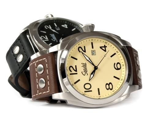 Engraved Pilot Quartz Watch by Speidel - Valentine's Day/anniversary gift for him