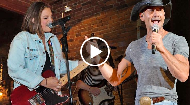 Tim mcgraw 39 s daughter gracie gives a haunting live for How old are tim mcgraw and faith hill s kids