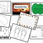 This Packet was created to  use for Australia Day celebrations in Australia.  It includes:  • A Theme colouring or title page  • A states and capital c...
