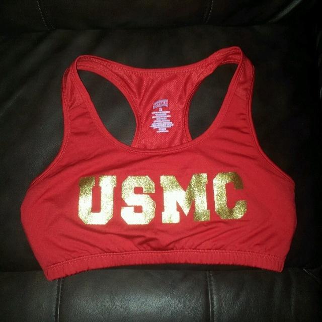 USMC sports Bra...a must have! =D