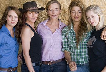 McLeods Daughters - Kate, Stevie, Grace, Moria, and Tayler