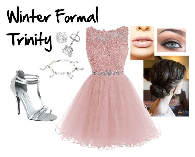 """""""Trinity's Winter Formal Outfit"""" by hazzasangel ❤ liked on Polyvore featuring West Coast Jewelry, LASplash, Winter, LiamPayne, formal, wattpad and fanfiction"""