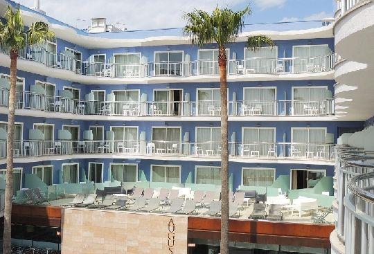 Hotel Augustus - Habitaciones con solarium compartido