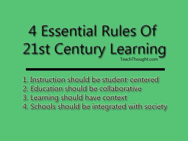 Comment on 4 Essential Rules Of 21st Century Learning by SMAN 2 Sinjai Tengah