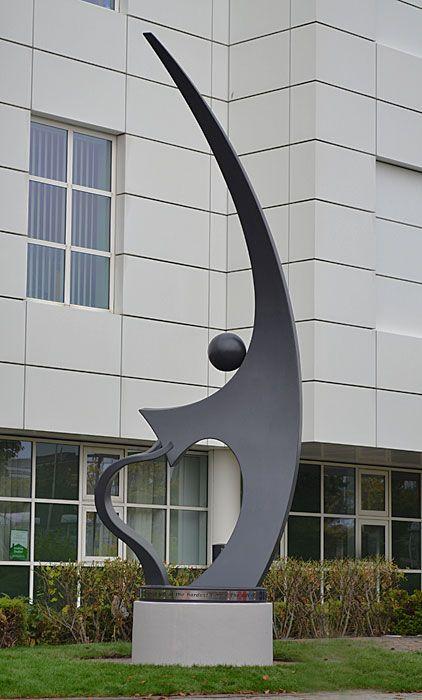 hospital sculpture, art for health, public sculpture