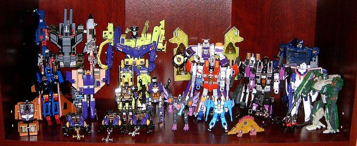 Transformers Generation 1 Decepticons + Classic Decepticons ...