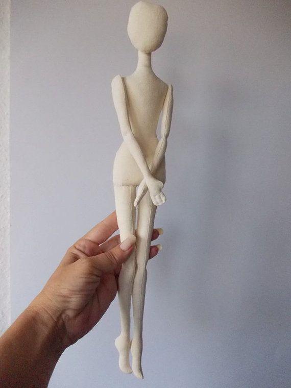 Blank Doll BODY for crafting handmade doll от MadeByMiculinko