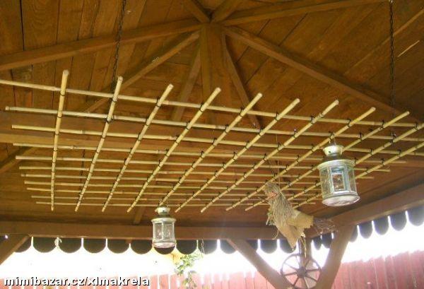 bambusová mříž
