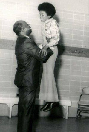 What a RARE find!!! Louis Armstrong gives Michael Jackson a lift.