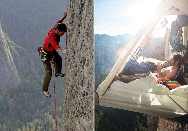 Para realizar grandes percursos e subir ao topo de montanhas exuberantes são necessários equipamentos de segurança, certo? Errado. ParaKevin Jorgeson e Tommy Caldwell o mais legal é utilizar somente as mãos e os pés na hora de escalar, arriscando suas vidas como muitos jamais teriam coragem. O novo desafio da dupla é alcançar o topo do monólito de granito El Capitan, que fica a3 mil metros de altura do chão, dentro do parque nacional de Yosemite, na Califórnia. O caminho feito por eles…