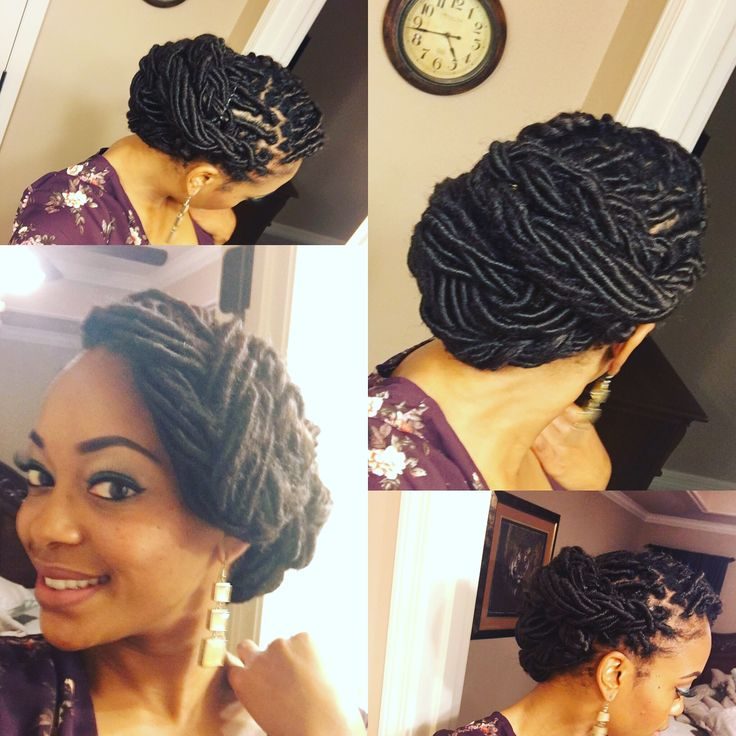 25 gorgeous loc hairstyles ideas on pinterest locs styles loc beautiful loc updo goddess loc style pmusecretfo Image collections