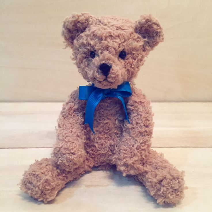 My Felted Teddy Bear is done!