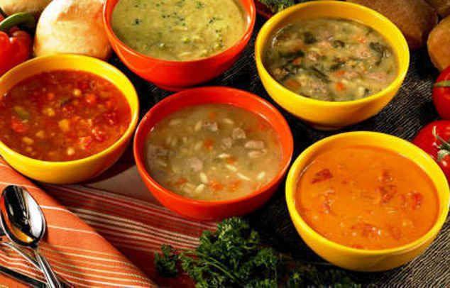 Рецепты супов.