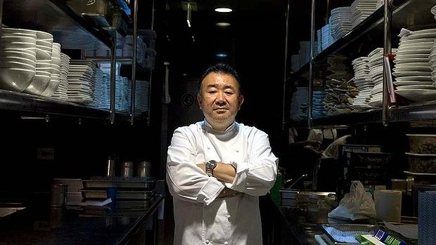 Portrait of famous chef Tetsuya.photo taken on the 14th of january 2010.Sydney.shd.extra.news.photo by Jacky Ghossein SPECIAL 120525