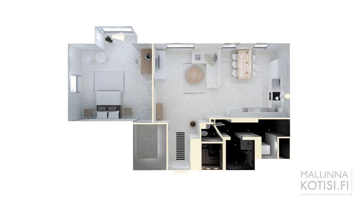 3D-mallinnuksen pohjakuva