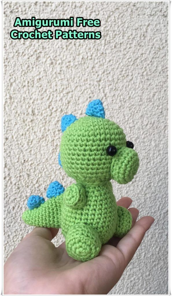 Baby Knitting Patterns Amigurumi Dinosaur Free Pattern... | 1024x595