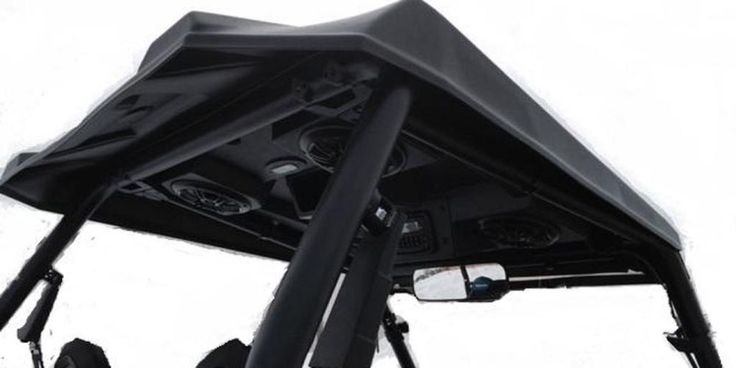 "Polaris Rzr 1000 Turbo >> Details about 1/4"" Hard Plastic RZR Roof Top XP4 XP 1000 4"