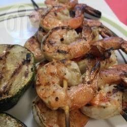 BBQ Prawn Kebabs @ allrecipes.com.au