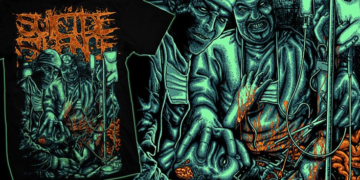 """Laparotomy"" t-shirt design by burntilldead"