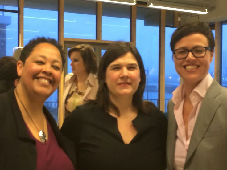 Met hoofdredacteur Irene de Bel bij Opzij