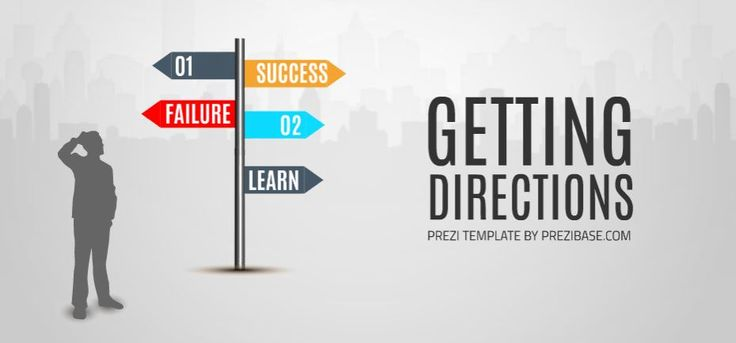 Directions Presentation Template | ShareTemplates