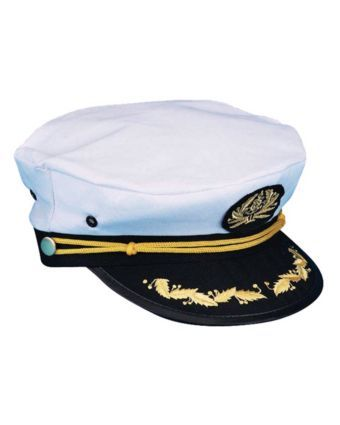 Captains Hat. Get nautical with a new Bennington Pontoon Boat this year. Your family and friends will love your #BennyStyle. Find a local dealer at www.BenningtonMarine.com