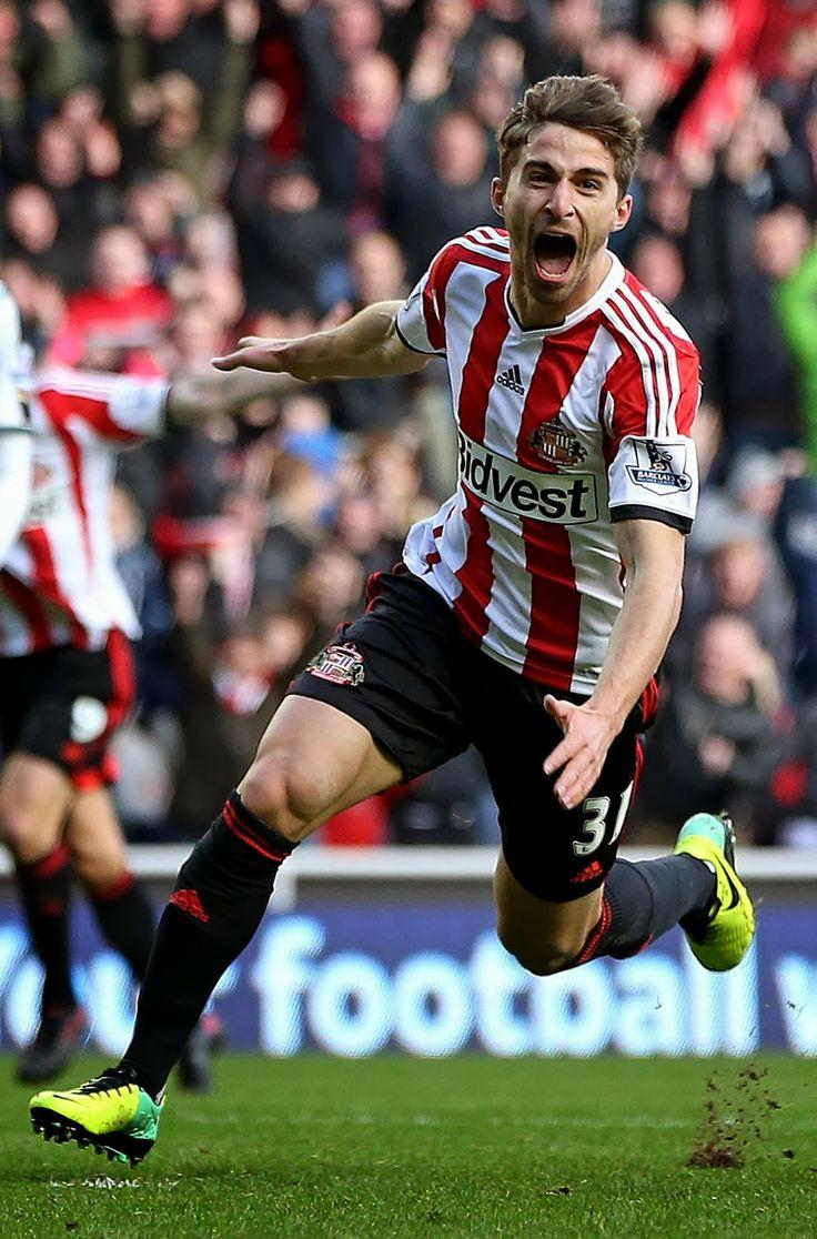 Fabio Borini of Sunderland AFC