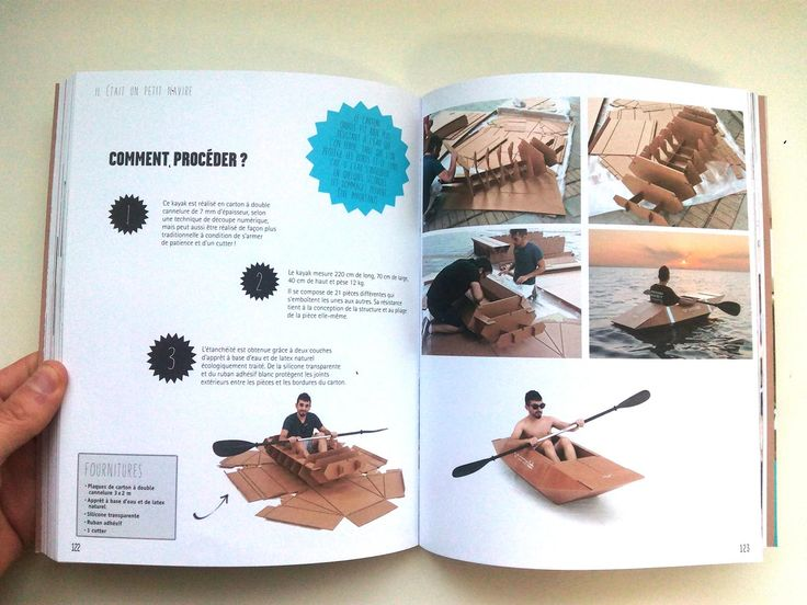 how to make a canoe from cardboard