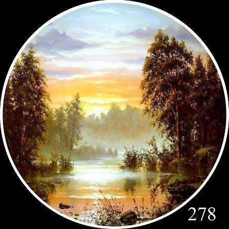 278 НАСТЕННОЕ БЛЮДО - Изобразительное искусство - Масло, акрил