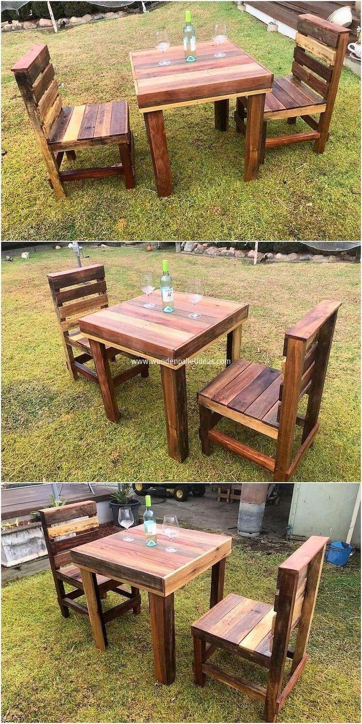 Diy Pallet Furniture   Pallet Furniture Instructions   How ...