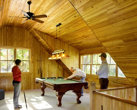 Garage Attic Man Cave : Attic man cave rooms pinterest