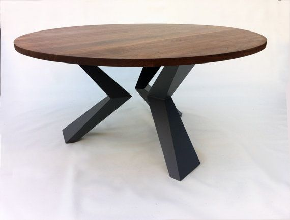 Modern 60 Round Bird Leg Dining Table Seats 8