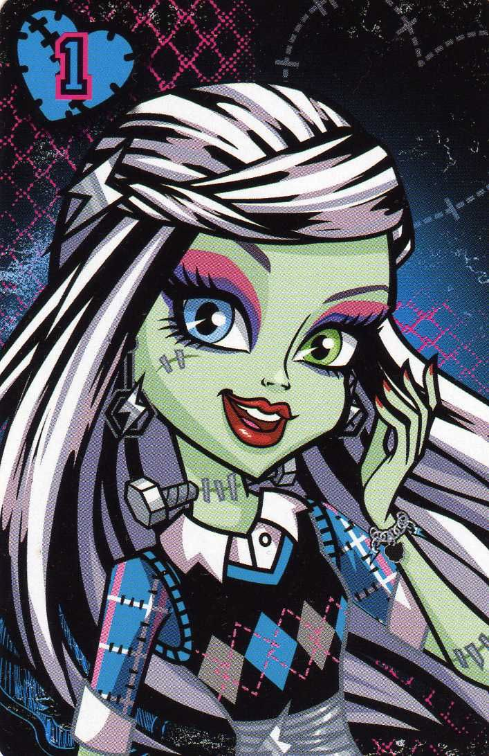 Monster High Frankie Stein | monster high frankie stein tron legacy girl in white these