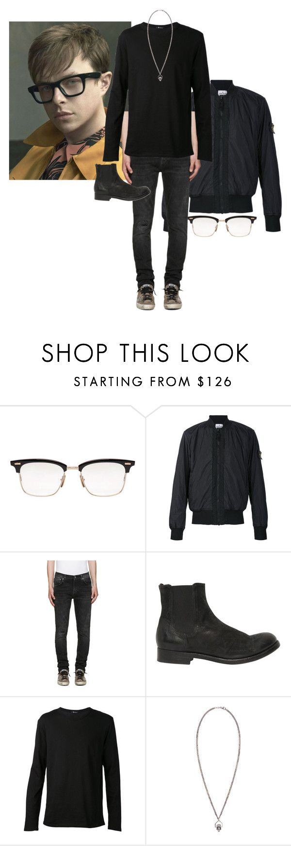 """Warren Heiland"" by ashleyr0sexo ❤ liked on Polyvore featuring Thom Browne, STONE ISLAND, Nudie Jeans Co., The Last conspiracy, T By Alexander Wang, Alexander McQueen, men's fashion and menswear"