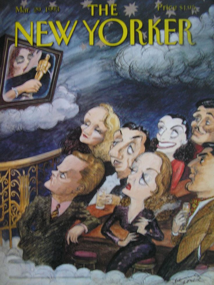 THE NEW YORKER  March 29, 1993  Cover: EDWARD SOREL   MICHAEL CHABON