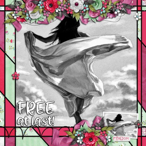 Kit Cartwheels by Fayette Design Template Bold Background #3 by Heartstrings Scrap Art. Photo from Desktop Nexus.