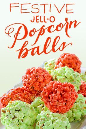 More festive than a holiday sweater. Tastier too. Try our Festive JELL-O Popcorn Balls.