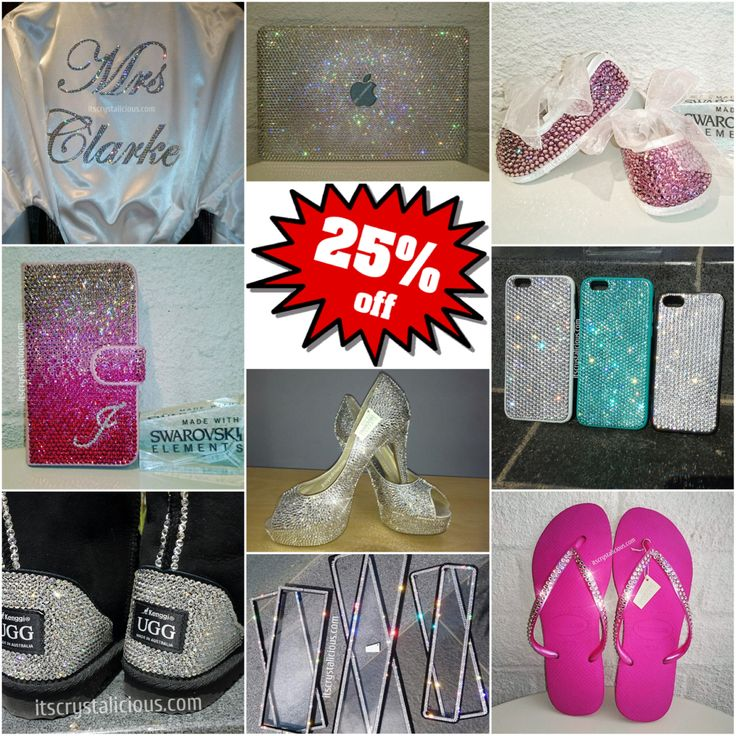 25% OFF Crystalicious® Christmas SALE - On until 30/11/2015   SHOP THE SALE NOW on all our @swarovski #bling products and Services in time for Christmas ✨  www.itscrystalicious.com - No Code Required (Link in Profile)  www.ItsCrystalicious.etsy.com - Coupon Code: PX1125