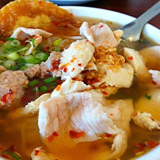 レシピとお料理がひらめくSnapDish - 87件のもぐもぐ - スパイシーなタイ麺スープ/Spicy Thai noodle soup by Juliee ~ ジュリー