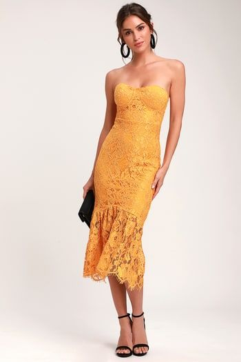 61650eadff Find a Trendy Women's Yellow Dress to Light Up a Room | Affordable, Stylish  Yellow Cocktail Dresses and Formal Gowns