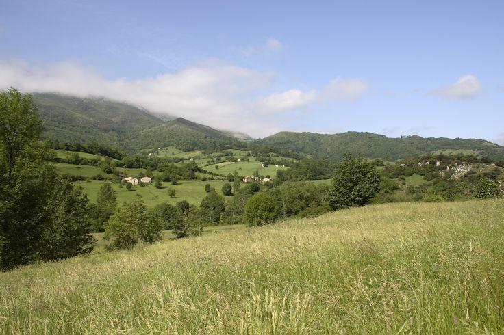 Incredible landscape and countryside along the Camino Primitivo (Original Way)