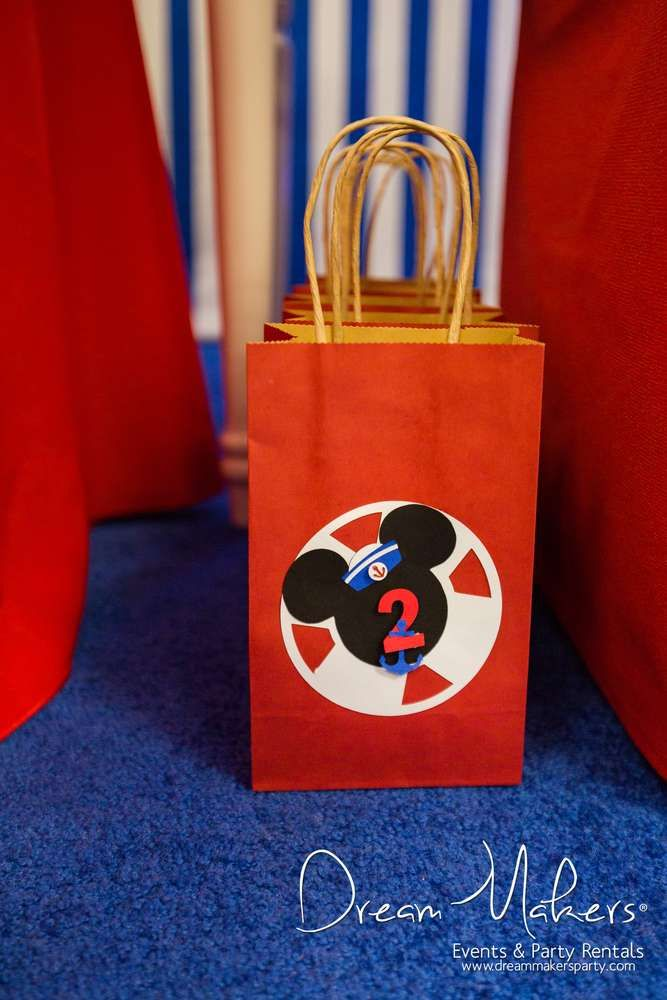 Mickey Mouse Sailor Birthday Party Ideas | Photo 1 of 54                                                                                                                                                                                 More
